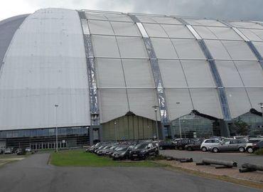 Eine riesige Halle