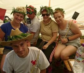 Im Landesjugendlager 2019 hatten auch die Betreuer ihren Spaß