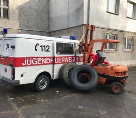 Der Berufsfeuerwehrtag der Jugendfeuerwehren der Stadt Guben 2019