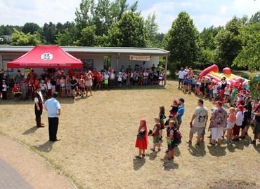 Eröffnung des Piratenfestes der Kinderfeuerwehren des Landkreises Spree-Neiße