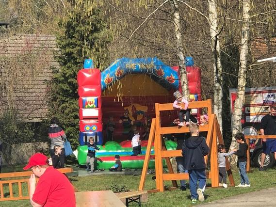 Spielen und Spaß haben war das Motto beim Tag der offenen Tür im Kinder- und Ausbildungszentrum Eichwege