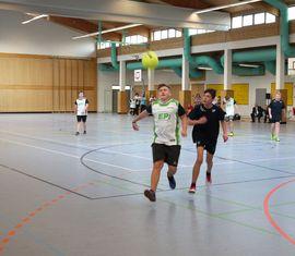 4. Hallenfußballturnier der Kreisjugendfeuerwehr Spree-Neiße in der Turnhalle der Peitzer Oberschule