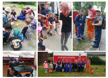 Aktionstag der Kinder- Und Jugendfeuerwehren des Amtes Döbern-Land.