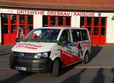 Der neue MTW für die Jugendfeuerwehr der Stadt Drebkau