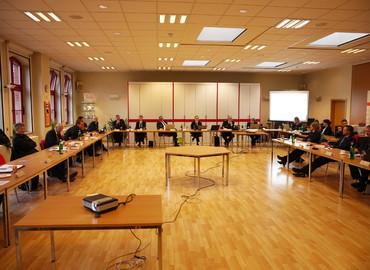 Sitzung des Landesjugendfeuerwehrausschusses im Feuerwehrgerätehaus Forst - Mitte